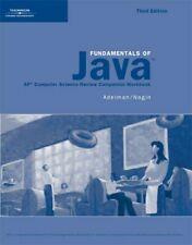 Activities Workbook for Lambert/Osborne's Fundamentals of Java: AP* Computer…