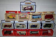 13X LLEDO DAYS GONE HAMLEYS TOY SHOP BUSES FORD PACKARD DENNIS VANS MINT BOXED