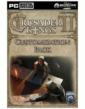 Crusader Kings II-Customization Pack DLC Steam Key Code PC [livraison rapide]