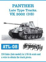 FRIULMODEL ATL-8 1:35 German Panther Late Type Track Set (210 Links) Metal Kit