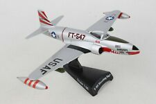 "POSTAGE STAMP USAF F-80 ""SHOOTING STAR"" 1:96 SCALE DIECAST METAL MODEL"