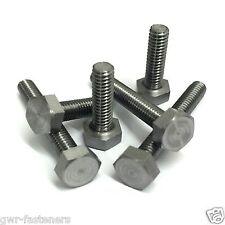 10BA HEXAGON BOLTS - STEEL SCREWS (10 PACK) 10 BA
