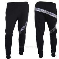 Emporio Armani EA7 Mens Trousers Tracksuit Pants 6HPP60 Black