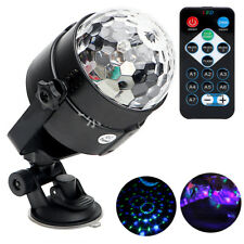 Auto Car 5V Disco DJ Stage Lighting LED RGB Crystal Ball Lamp Bulb Light Party