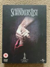 Schindler's List DVD 1993 WW2 Holocaust 2 Discs in Very Good Condition!