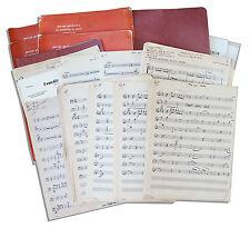 Captain Kangaroo Sheet Music From 1959-1960 / Estate