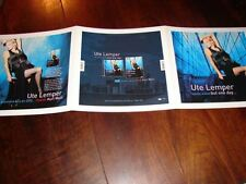 UTE LEMPER BUT ONE DAY!!!!!!!!!!!!RARE FRENCH PRESS/KIT