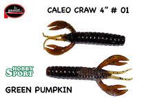 """CALEO CRAW 4"""" MOLIX COLORE #01 GREEN PUMPKIN"""