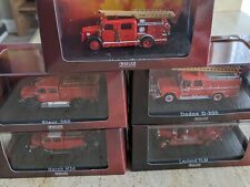 More details for atlas fire engine collection 1/76 job lot bundle new boxed. free uk postage.