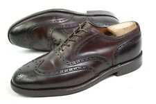 ALDEN 974 USA Oxford shoes men Shell CORDOVAN USA C/E 7US/ 6.5uk wingtip brogues