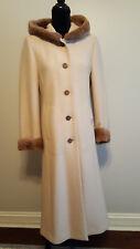 Geiger Austria Boiled Wool Long Coat with Hood Size US 2, European 34 ($1229.00)