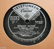 Nice Price: Wingy Manone - Besame Mucho / Paper Doll TELEFUNKEN (1004)