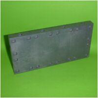 Playmobil - Bodenplatte Grundplatte schwarz - 18,0 x 9,0 cm - System X
