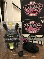 """Mad Zombie Robber Dunny 8"""" SDCC 2011 Signed"""