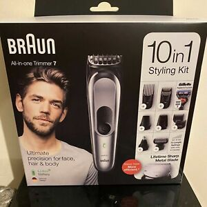 Braun 10-in-1 MGK7220 Men All In One Trimmer 7 - Face, Hair & Body