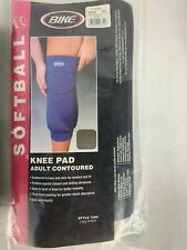 Bike 7256 Softball Knee Pad Adult Contoured New In Package Red BB007