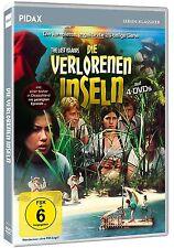 Die verlorenen Inseln * DVD ungekürzte 26-teilige Kult-Abenteuerserie Pidax Neu