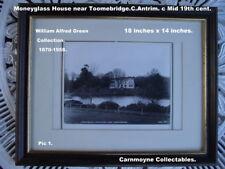More details for 2 framed copy prints of moneyglass house -toomebridge co.antrim. ah1661.