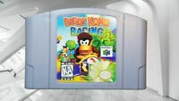 ✅🔥 AUTHENTIC Diddy Kong Racing Nintendo 64 N64 Video Game Retro Kids Tested