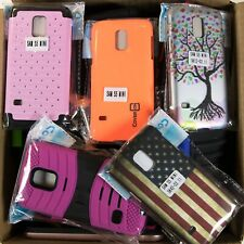 Wholesale Bulk Lot of 80 Samsung Galaxy S5 Mini Mixed Phone Cases Various Styles