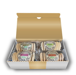 New England Cookie Co. Hand Baked Shortbread Assortment 4 Packs x 150g