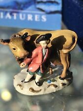 Olszewski Goebel Miniatures 743-P Jack w/ Cow Of Jack & The Beanstalk