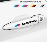 2 x For BMW Motorsport Door HANDLE Car VINYL Decal STICKER Logo E60 E90 E46 E39
