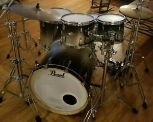 Pearl Masters Maple MCX Shell Pack - Black Sparkle Fade - Shipping Available