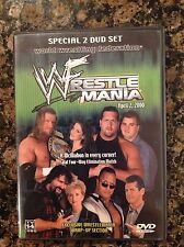 WWF - WrestleMania 2000- 16 (DVD, 2000) Authentic US Release scratch free