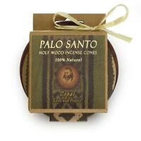 Kit -  Palo Santo and Copal Cones With Burner