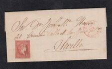 1857.-  ZAFRA (BADAJOZ) A SEVILLA
