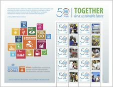 UNO WIEN - 2016 GRUSSMARKEN BOGEN 50 JAHRE UNIDO 917 - INDUSTRIELLE ENTWICKLUNG