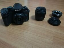 Panasonic LUMIX G85 with lenses and focal reducer!!!