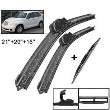 XUKEY Windshield Wiper Blades Front Rear Window Set For Chrysler PT Cruiser