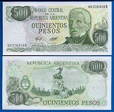 Argentina P-303a 500 Pesos Year ND 1977-1982 Uncirculated South America