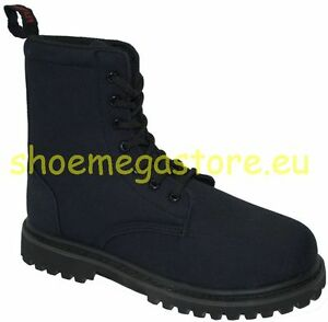 Inamagura Boot 7 Loch 11F1003 Black Canvas