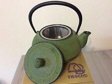 Iwachu Japanese Iron Tetsubin Teapot, Sage-Green