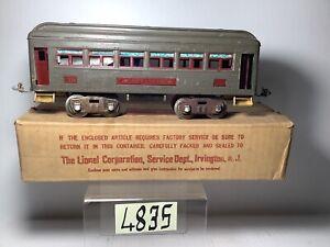 Vintage Prewar Lionel #339 Pullman With Box