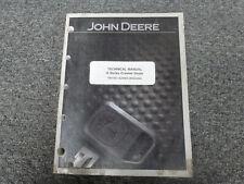 Jd John Deere 450h Crawler Dozer Bulldozer Service Operation Test Manual Tm1743
