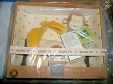 New miYim Organic Baby 3 pc Gift Set-Monkey Rattle - Monkey Burp Cloth & Banana
