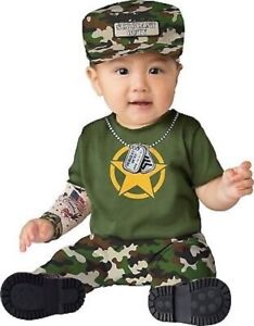 Private Duty Infant Army Costume  - NWT Free Shipping