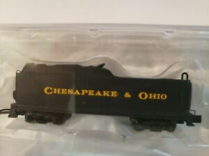 Bachmann 89852 N Scale Chesapeake & Ohio USRA Long Tender NEW