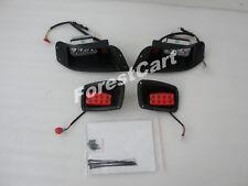 EZGO TXT GOLF CART DELUXE LED Headlight & LED Tail Light Kit 1996-2013