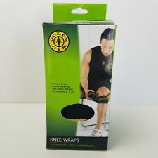 Golds Gym Knee Wraps Performance Weightlifting Product New Stock Item