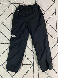 The North Face Ski Mountain Pants Small Black Gore Tex Zip Leg Nylon Vintage S