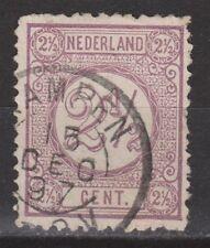 NVPH Netherlands Nederland nr 33 TOP CANCEL KAMPEN Cijfer 1876