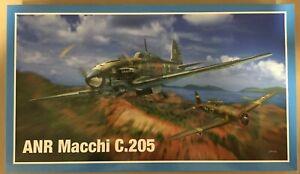 PACIFIC COAST MODELS ANR Macchi C.205 Plastic Model kit PCM32003