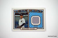 2021 Topps Heritage Clubhouse Collection Relic Masahiro Tanaka Yankees