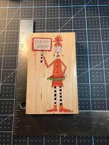 Princess Drama #80414 Rubber Stamp By Stamps Happen Xl