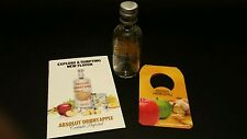 One Absolut Orient Apple Vodka recipe booklet,750ml bottle tag and 50ml bottle.